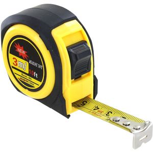 Photo of the Retractable Metal Tape Measure 10ft/3m - Both Imperial and Metric Scale