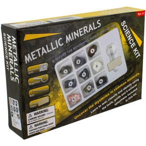 Photo of the Metallic Minerals Science Kit