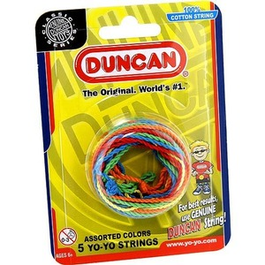 Photo of the: Multicolor Yo-Yo Strings - 5 pack