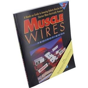 Photo of the MuscleWires Project Book and Sample Kit