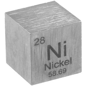 Photo of the: Nickel Metal Cube - 10mm 99.95% Pure