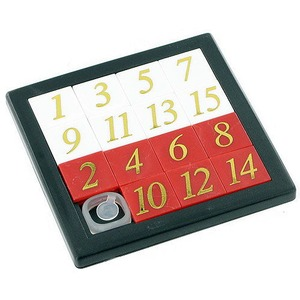 Photo of the Number Slide Puzzle