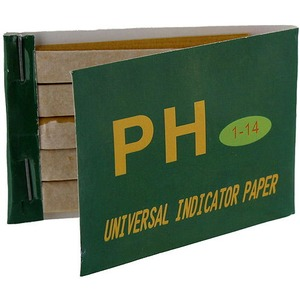 Photo of the: pH Paper Test Strips - Book of 100