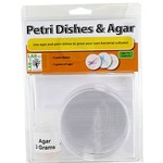 Photo of the: Petri Dishes with Agar Set