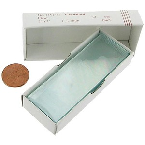 Photo of the Plain Microscope Slides - Pack of 12
