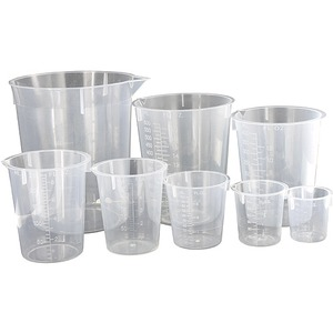 Photo of the: Plastic Nesting Beakers - Set of 8
