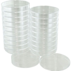 Photo of the: Plastic Petri Dishes - 85mm - pack of 20