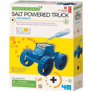 Photo of the Salt-Water Powered Truck 4M Kit
