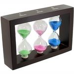 Photo of the: Glass Sand Timers - 1min 3 min 5 min