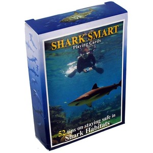 Photo of the Shark Smart Playing Cards