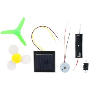 Photo of the Solar & Battery Fan STEM Kit