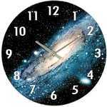 Photo of the: Space Galaxy Wall Clock