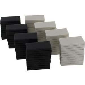 Photo of the: Streak Plates Class Pack - 40 White + 40 Black