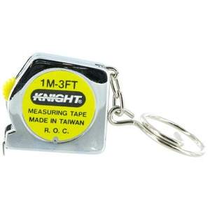 Photo of the Tape Measure Keychain