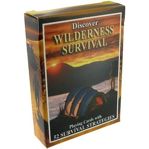 Photo of the Wilderness Survival Playing Cards